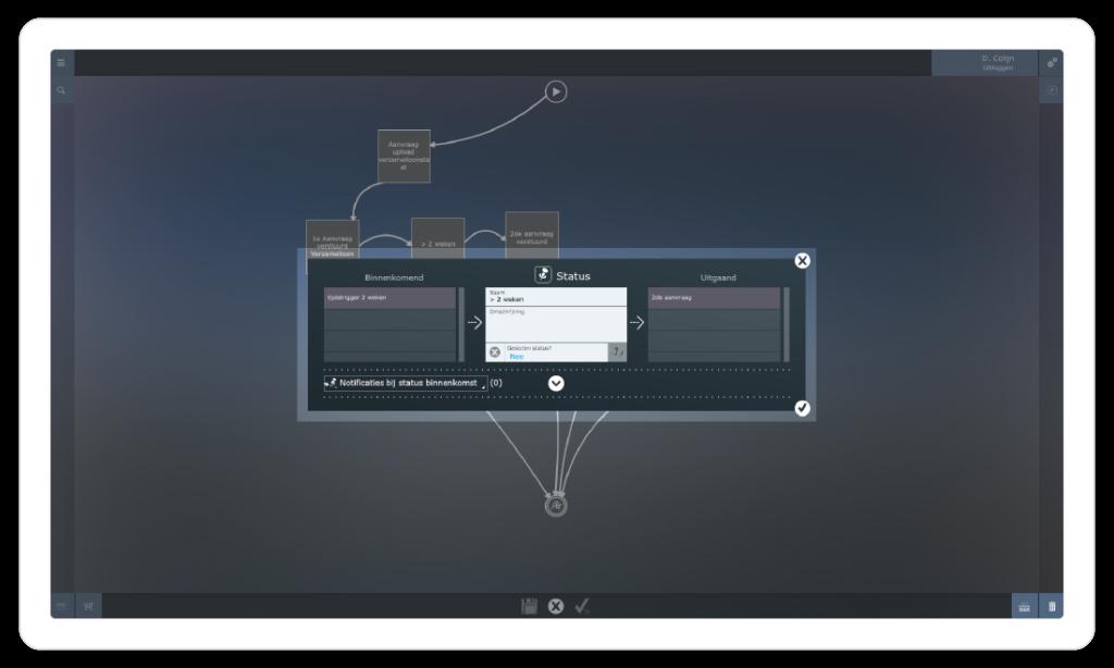 iONE workflow designer