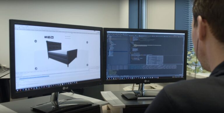 3D product configurator in ontwikkeling