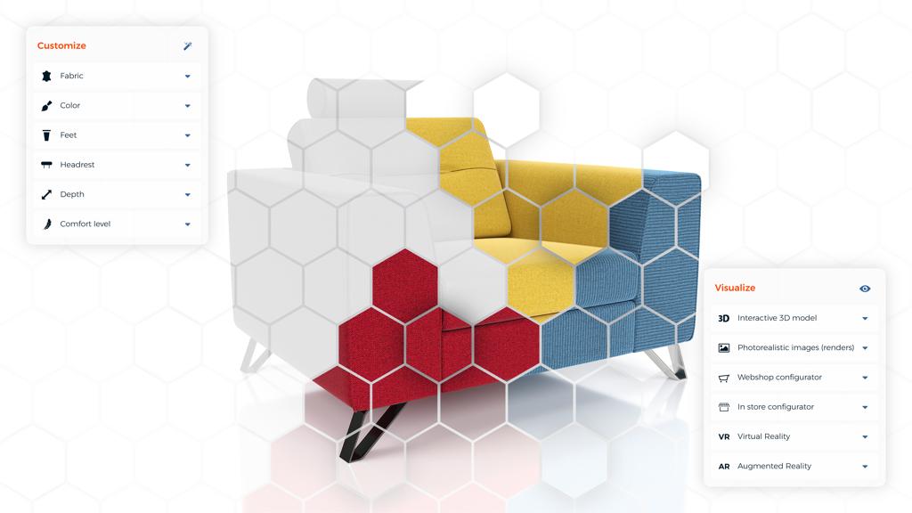 Productconfiguratie ERP software voor de meubelbranche