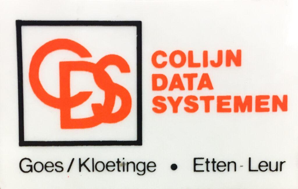 Colijn Data Systemen - 1981