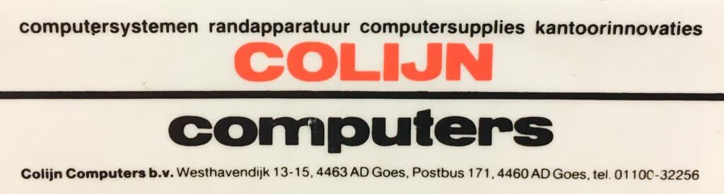 Colijn Computers
