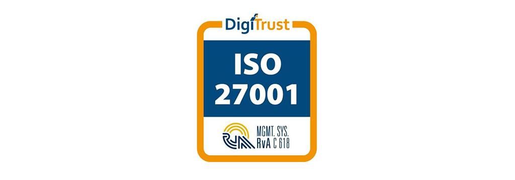 ISO 27001 certificering beeldmerk