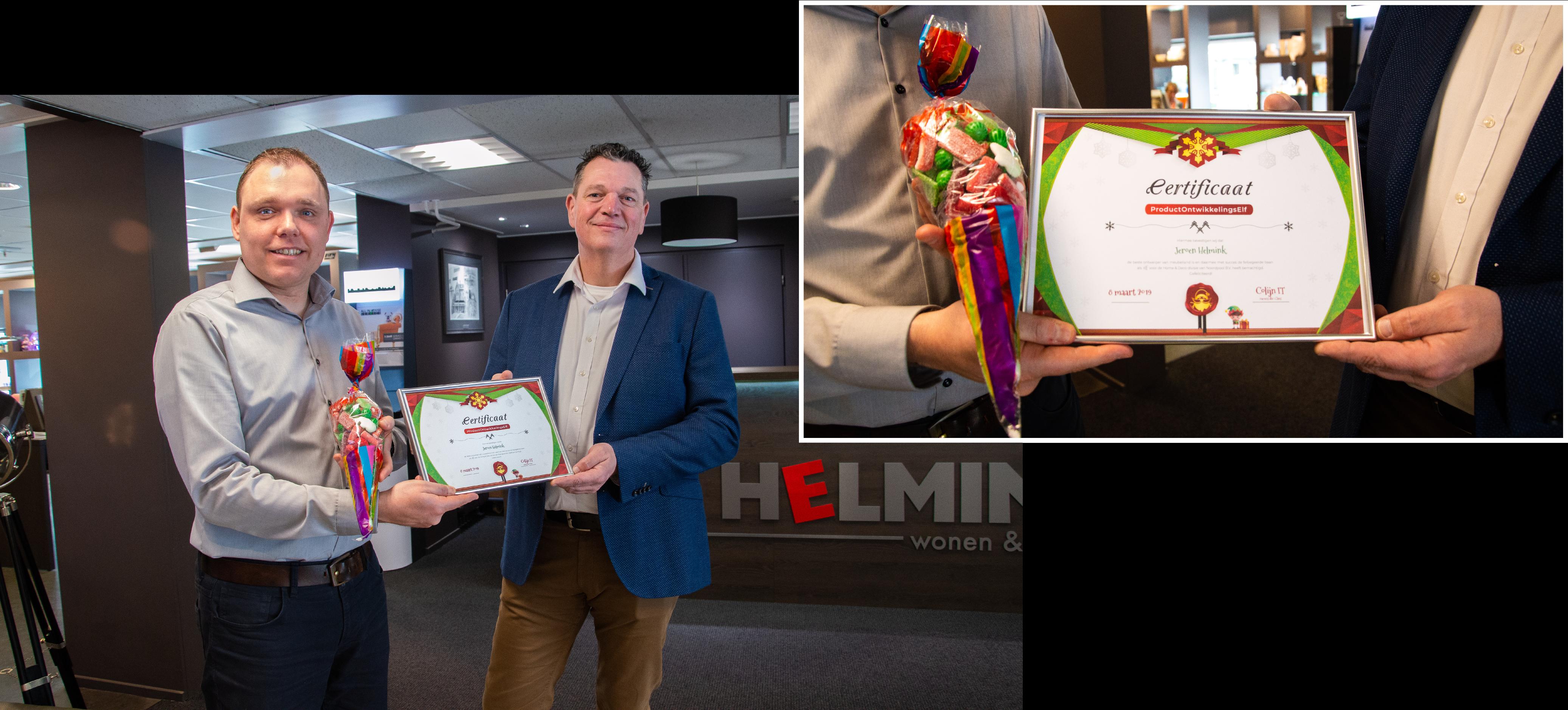 De winnaar van onze kerstactie: Jeroen Helmink