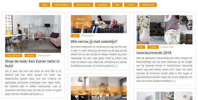 Jansen Totaal Wonen webshop