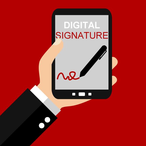 digitale handtekening